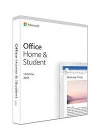 2019 MICROSOFT OFFICE HOME STUDENT WIN/MAC