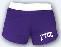 CHEER SHORTS PURPLE