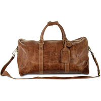 Westbridge Large Leather Duffel (Order on Demand)