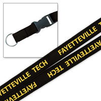 LANYARD FAY TECH BLACK
