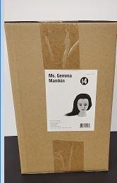 """MS. GEMMA MANIKIN 20-22""""XTRA DENSE HAIR"""