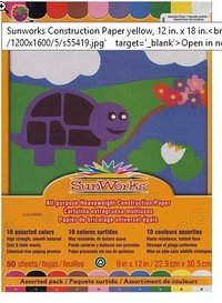 Pacon Sulfate Construction paper
