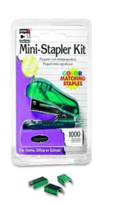 Charles Leonard Mini Stapler Kit Asst 1 Pk